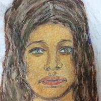 #JaneDoe's killer drew this picture of her, but we still don't know her name!  She may have been from Massachusetts, but was found in Maryland 1972