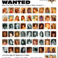Photos of women found in the possession of a serial killer!  DO YOU KNOW THEM?