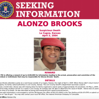 Before he was murdered, Alonzo Brooks was last seen on the evening of April 3, 2004 attending a party at a rural home outside of La Cygne, Kansas.