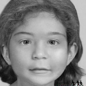 This unidentified child was found along with other children and a woman in Bear Brook State Park in Allenstown, New Hampshire back in 2000.
