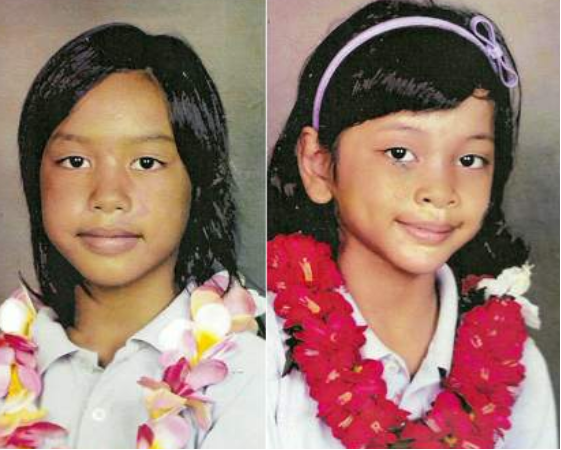 FALOMA & MALEINA LUHK: Missing from As Tao, Saipan since 25 May 2011 - Age 10 & 9