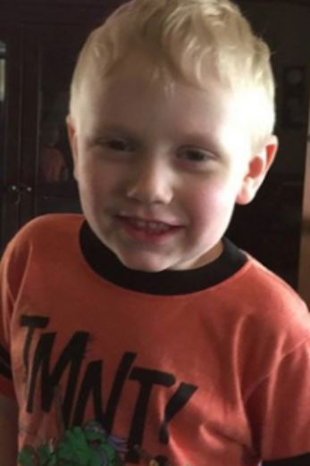 JOE CLYDE DANIELS is still missing from Dickson, TN since 4 April 2018, even though his father admitted to killing him! - Age 5