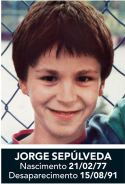 JORGE MANUEL SEPULVEDA: Missing from Massarelos, Portugal since Aug 15, 1991 - Age 14