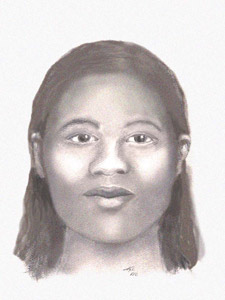Skeletal remains of adult female and fetus were found by fishermen walking to Port Bay in the town of Huron, NY on August 29, 2002.  DO YOU KNOW HER?